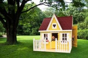 Promex, Spielhaus Schwalbennest, Kinderspielhaus, Holzspielhaus