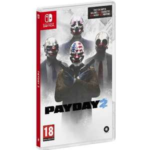 PayDay 2 (Switch) für 25,80€ inkl. Versand (El Corte Ingles)