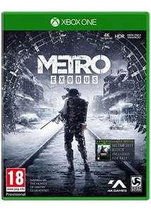 Metro Exodus inkl. Metro 2033 Redux (Xbox One) für 11,50€ inkl. Versand (Base.com)