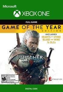 [Xbox] The Witcher 3: Wild Hunt GOTY Edition [VPN Argentinien]