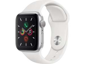 Apple Watch Series 5: 44mm für 319,95€ + 5,95€ Versand / 40mm für 299,95€ | GPS: Silber/weiß oder Schwarz/Nike Edition