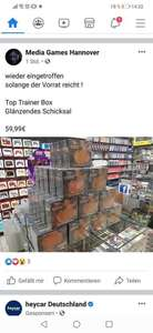 Pokemon Top Trainer Box Glänzendes Schicksal (lokal Hannover)