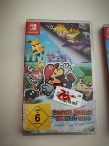 Lokal München Pasing Nintendo Switch Paper Mario / Moving Out