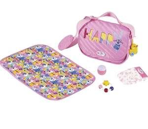Zapf Creation 828021 BABY born Baby Care Puppenwickeltasche und Accessoires