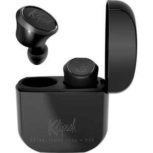 Klipsch T5: Kabellose Kopfhörer   2 Paar für 80,98€ (8h Akku, 24h mit Ladebox, aptX / AAC, USB Typ C, 4 Mikrofone, Alexa, Grauimport)