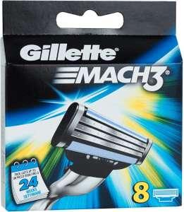 16 Gillette Mach3-Klingen für 18,78 Euro (1,17 pro Klinge) (Marktplatz, ehemals real.de)