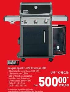 [Restposten   Gewerbe / Verein notwendig] Weber Spirit E-320 Premium Gasgril (3+1)l für 595€   Enders Gasgrill Urban 2-Brenner für 142,80€