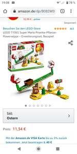 LEGO Super Mario - Piranha-Pflanze-Powerwippe (71365) mit Prime