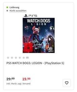 Watch Dogs Legion bei Media Markt, Saturn, Amazon (PS5, PS4, Xbox One, XSeriesX/S, PC)