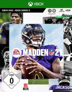 Madden NFL 21 - Xbox One (inkl. kostenlosem Upgrade auf Xbox Series X) [Prime oder Abholstation]