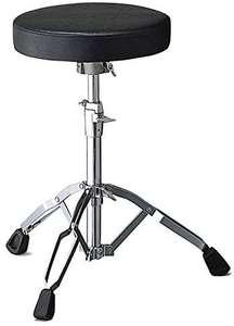 Pearl D-790 Drummer's Throne, Schlagzeug Hocker, stufenlos höhenverstellbar ca. 46 - 66 cm [Amazon]