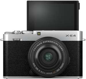 Fujifilm X-E4 Systemkamera inkl. XF 27mm F2,8 WR Objektiv & kostenlosem Capture One Pro 21 (Hersteller übergreifend)
