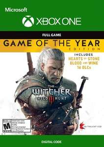 [Xbox One & Series] The Witcher 3: Wild Hunt - Game Of The Year Edition (VPN Argentinien)