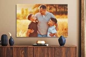 [Lieblingsfoto] Foto auf Leinwand 60x40cm für je €6,74 zzgl. einmalig 5,95€ Versandkosten