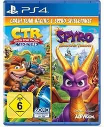 CTR Crash Team Racing Nitro Fueled & Spyro Reignited Trilogy - PS4 - VSK frei möglich