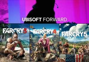 Ubisoft Forward Sale mit 10€ Rabatt ab 15€: z.B. Far Cry 3 + 4 + 5 für 8€   Immortals Fenyx Rising für 20€ [PC Uplay]