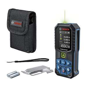 """[Prime] """"Der Neue"""" Bosch Professional Laser-Entfernungsmesser GLM 50-27 CG + Gürtelclip"""