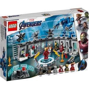 [Alternate] LEGO 76125 Marvel Super Heroes Iron Mans Werkstatt