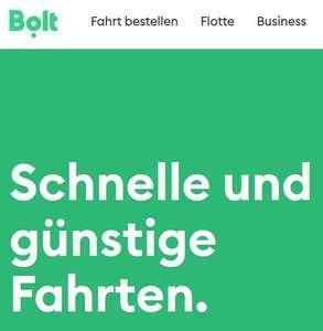 12€ KWK Rabatt auf erste (Fahrdienst-)Fahrt bei Bolt (lokal Berlin)