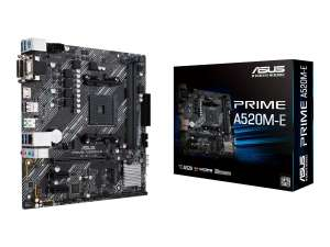 ASUS PRIME Mainboard A520M-E - Micro ATX - Socket AM4 - AMD A520 90MB1510-M0EAY0