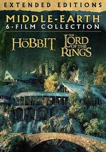 Herr der Ringe + Der Hobbit (Extended + 4K + HDR + Alle Sprachen)