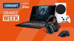 Cyberport Orange Week: z.B. Hardware, Laptops, PCs, Monitore, Xbox Series S, QNAP NAS, Kopfhörer, uvm.