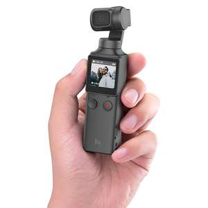 FIMI Palm Gimbal-Kamera (3840x2160@30fps, 3-Achsen-Stabilisierung, ~2h Akku, Display, Joystick, microSD, WLAN, Bluetooth)
