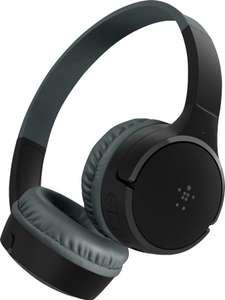 Belkin SoundForm Mini Kinder-Kopfhörer (On-Ear, Bluetooth 5.0, ~30h Akku, Micro-USB, Kabelbetrieb möglich, Mikrofon, 85dB Pegelbegrenzung)