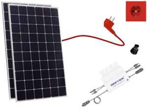 [LOKAL Bundesweit] 630Wp Balkonkraftwerk mit Jinko Solar 315 Watt EaglePerc 60M-V inkl.Microwechselrichter Envertech EVT-560