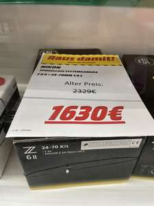 [Lokal MM Düsseldorf Metrostraße] Nikon Z6 II Spiegelreflexkamera + 24-70mm F4