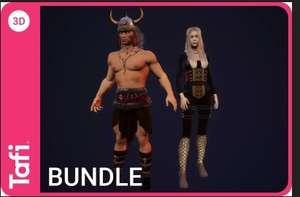 Unity Fantasy Bundle One from Tafi, Kostenloses Asset