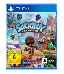 Sackboy: A Big Adventure (PS4 inkl. PS5 Upgrade) für 20€ per Abholung oder 23,99€ inkl. Versand (Expert 48599 Gronau)