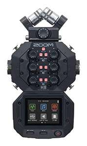 Zoom H8 Portabler 12-Spur Audio-Recorder direkt bei Amazon.de