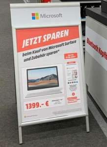 (Lokal Media Markt Dresden Elbepark) Microsoft Surface Book 3 i5/8GB/256GB inkl. 3 Jahre PlusGarantie & Microsoft 365 Single