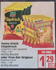 funny-frisch Chipsfrisch 4x50g Beutel bei Edeka