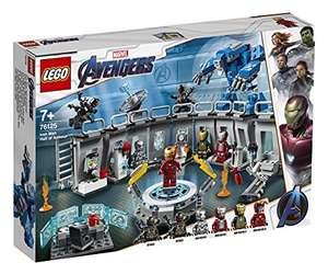 [Amazon Prime Day] LEGO 76125 Super Heroes Marvel Avengers Iron Mans Werkstatt, Set mit 6 Minifiguren
