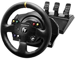 Thrustmaster TX Racing Wheel Leather Edition - Force-Feedback-Rennsimulator für Xbox One und PC - Funktioniert mit Xbox Series X|S.