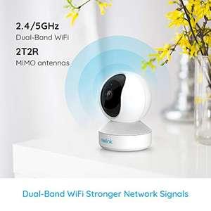 Reolink E1 Zoom schwenkbare WiFi IP Kamera mit 3X optischem Zoom 5MP PTZ FTP fähig {PRIME}