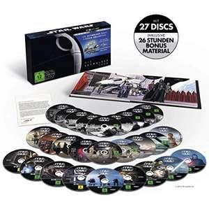 [Prime Day] Star Wars 1-9 Die Skywalker Saga 4K Ultra HD Blu-ray + Saturn Konter
