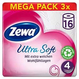 (Prime Day) Zewa ultra soft Toilettenpapier - 48 Rollen (3 x 16 Rollen)