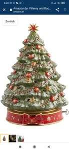 """[Prime Kunden] Villeroy und Boch Toy's Delight Spieluhr """"Weihnachtsbaum"""", Porzellan, Grün"""