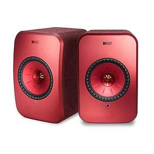 (B-Ware/aus Kundenretoure) KEF LSX rot
