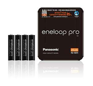 "[Prime Day] Panasonic eneloop pro AA oder AAA ink. Storage Case (und auch die ""normalen"" AA)"