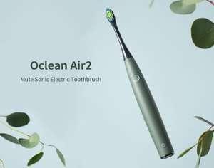 Oclean Air 2; elektrische Zahnbürste / Schallzahnbürste IPX7, in versch. Farben für 18,25€ Versand aus der EU