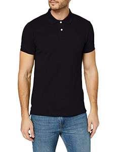 [Amazon Primeday] ESPRIT Herren Classic Piqué Poloshirt - schwarz - Gr. S-L u. XXL
