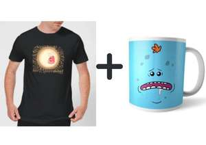 Rick and Morty Bundle - T-Shirt + Tasse