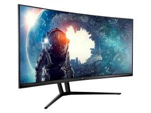 Refurbished | 35 Zoll-Zero-G-Curved Ultra-Wide-Gaming-Monitor | 1800R | 21: 9 | 3440x1440p | UWQHD | 100 Hz