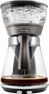 De'Longhi Clessidra ICM17210 Kaffeemaschine (1800W, 1.25l Glaskanne, 2 Brühtechniken: ECBC 92-96°C oder Schwallbrühverfahren)