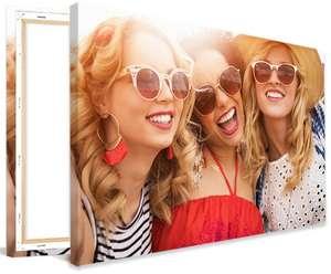 [Lieblingsfoto] Foto-Leinwände - z.B. 90x60cm für 12,99€ versandkostenfrei / andere Formate ab 20x20cm für 2,19€