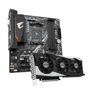 GigaByte GeForce RTX 3060 Gaming OC 12GB GDDR6 Grafikkarte + Gigabyte B550M AORUS ELITE Mainboard